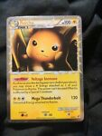 HOLO Raichu Prime 83/90 Undaunted Damaged Pokemon Card Game Rare