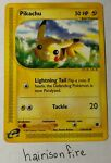 Pikachu 124/165 Expedition Lightly Played Pokemon Card Common