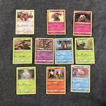 10 x Detective Pikachu Trading Cards Pokemon Game inc. Mr Mime 11/18 Shiny SET 2