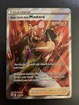 Single Strike Style Mustard 163/163 Full Art Battle Styles NM/M