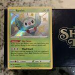 Rowlet SV001/SV122 Shining Fates Shiny Holo Rare Pokemon Card MINT