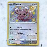 Shiny Pokemon Minccino SV093/SV122 Shining Fates Holo Rare TCG Near Mint