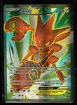 Pokemon SCIZOR EX 119/122 - XY BREAKpoint - ULTRA RARE FULL ART - MINT