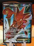 Scizor EX 119/122 Full Art Pokemon Card XY BREAKpoint MINT NEAR MINT.
