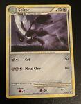 Scizor 7/90 - Undaunted - Rare Holo Pokemon Card NM