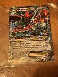 Mega M Scizor EX 77/122 XY Breakpoint Ultra Rare Full Art Holo 2016 Pokemon Card