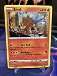 Entei 020/163 Holo Rare Battle Styles Pokemon Card