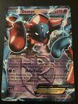 Pokemon TCG Deoxys EX BW82 Holo Black Star Promo Card - NM