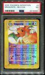 2002 Pokemon E Series Expedition Dragonite 9/165 Reverse Holo Foil PSA 7 NM
