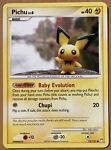 Pichu 93/123 - Common Non-Holo Mysterious Treasures Pokemon Card - NM