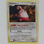 Mysterious Treasures Reverse Holo Stamp Happiny 52/123 Pokemon Trading Card NM