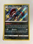 Galarian Obstagoon SV080/SV122 Shiny Rare Shining Fates Pokémon TCG Near Mint