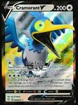 ⭐ Pokemon Cramorant V Ultra Rare Shining Fates Pokemon Card (054/072)