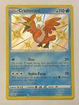 Shiny Cramorant SV030/SV122 Holo Rare Pokemon Shining Fates Shiny Vault