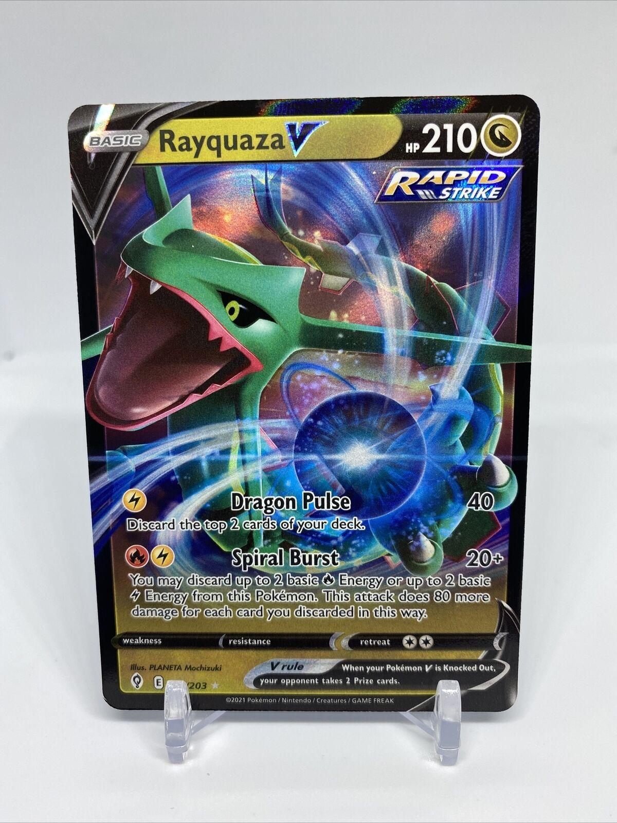 Rayquaza V 110/203 Pokémon Evolving Skies Ultra Rare Holo