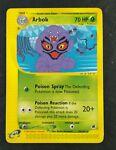 Pokemon Expedition Arbok 35/165 Rare Non Holo 2002