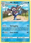 Pokemon Card - Battle Styles 035/163 - GALARIAN MR. RIME (rare) - NM/Mint