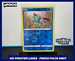 Chewtle 026/072 REVERSE HOLO Pokémon Card - Pokemon TCG Shining Fates - MINT PSA