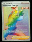Pokemon SINGLE STRIKE STYLE MUSTARD 177/163 Battle Styles HYPER FULL ART - MINT