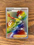 Pokemon Battle Styles - Phoebe Rainbow Holo Rare Trainer Card 175/163 Foil 2021