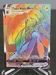 Tapu Koko VMAX 166/163 Rainbow Rare Pokemon Card Battle Styles See Description