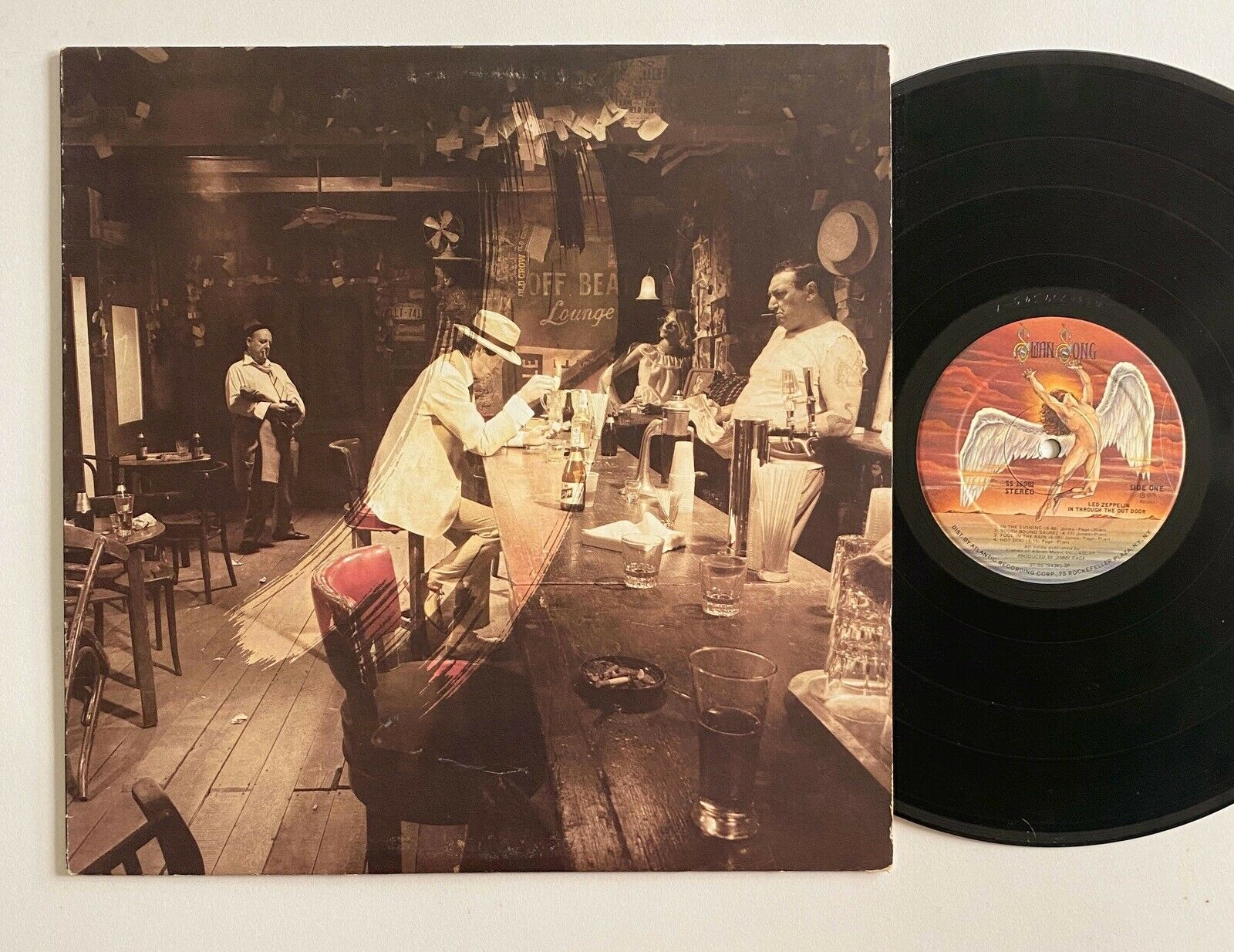 LED ZEPPELIN In Through The Out Door SWAN SONG SS 16002 LP VG+/VG++