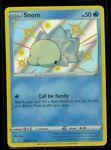 Pokemon SHINY SNOM SV033/SV122 Shining Fates RARE HOLO - MINT