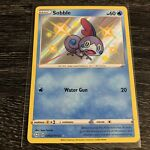 Sobble SV025/SV122 Pokemon TCG Shining Fates Shiny Vault Holo Rare Near Mint