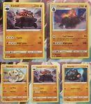Pokemon Coalossal Carkol Battle Styles - 080/163 Reverse Holo Rare (5 cards)