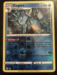 Reverse Holo Kingdra Pokémon card (Battle Styles set, 033/163, NM)