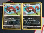 Pokemon Shining Fates 048/072 Thievul Holo and Reverse Rare Near Mint NM