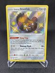 Shiny Galarian Stunfisk SV088/SV122 Holo Rare Pokémon Shining Fates - NM/M