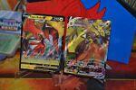 Pokemon TCG 2X Tapu Koko Vmax 051/163 & Tapu Koko V 050/163 Battle Styles NM/M