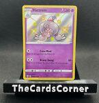 Pokemon Hattrem Shiny V Holo Rare (SV055/SV122) SS Shining Fates (NM)