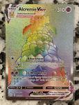 Alcremie VMAX 073/072 Pokemon TCG Shining Fates Secret Rainbow Rare