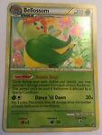 Pokemon BELLOSSOM 1/90 RARE HOLOFOIL NM CARD UNDAUNTED