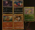 Pokemon Battle styles - Holo Rare Evolutions Mixed Types Incl. Marowak 070/163