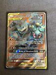 Marshadow & Machamp GX 198/214 Full Art Pokemon Unbroken Bonds NM/M Mint