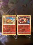 Emboar - 025/163 Battle Styles Reverse Holo Rare Pokemon - & Pignite (2 Cards)