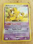 Pokemon TCG English Card Mysterious Treasures Alakazam 2/123 Holo Rare