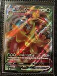 Pokemon Flapple VMAX 019/163 Full Art Holo Rare Battle Styles Near Mint