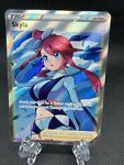 Pokemon TCG Shining Fates Skyla 072/072 Full Art Trainer Ultra Rare 🔥