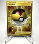 Pokemon TCG Card Level Ball Secret Rare Gold Battle Styles #181/163 NM/M+