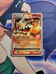 Heatran Lv.X - 97/100 - Moderately Played Ultra Rare Pokemon Card - Stormfront