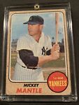 1968 Topps Baseball Card Of Mickey Mantle #280 - Low/Mid Grade!!