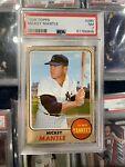 1968 Topps Mickey Mantle New York Yankees #280 Baseball Card PSA 7