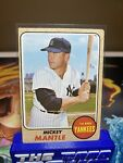 1968 Topps Mickey Mantle # 280 NY Yankees HOF Original See Photos