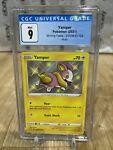 A6) Yamper Shining Fates SV039/SV122 Graded CGC 9 PSA Pokemon Shiny