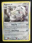 Pokemon 1/123 Aggron Mysterious Treasures Holo Rare HP a