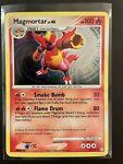 Pokémon Card- Magmortar 12/123 (Mysterious Treasures, 2007) Rare Holo, NEAR MINT